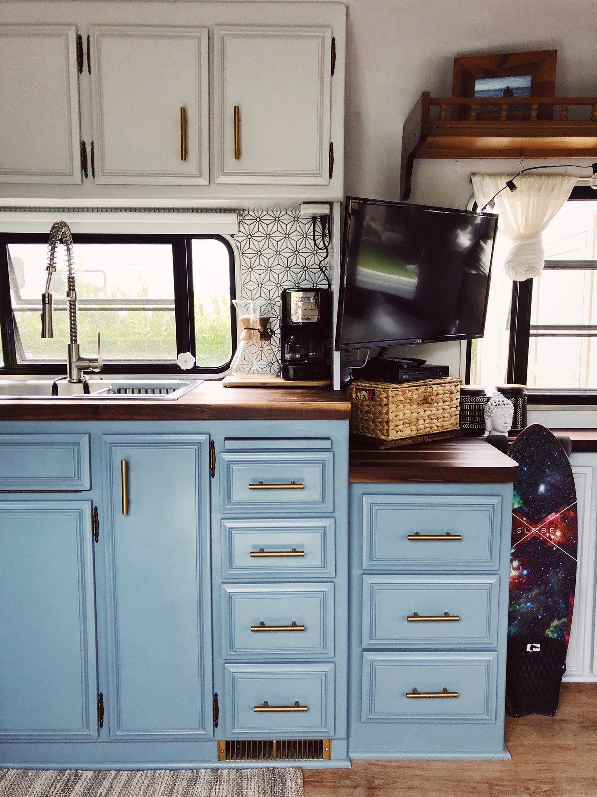 After: Gerry Fleetwood Avion kitchen