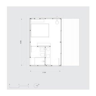Chalet M floor plan