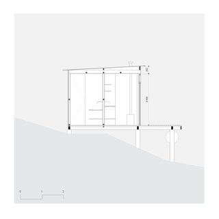 Chalet M sectional plan