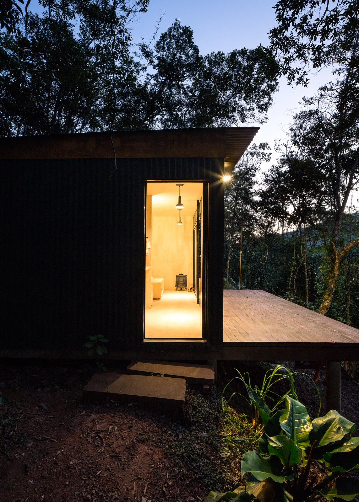 Chalet M cabin exterior