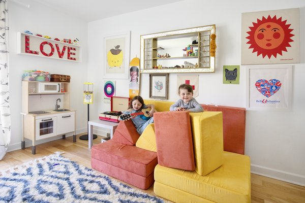 A colorful playroom for the kids.