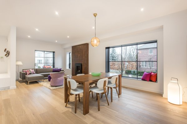 Living and dining areas.   Manor Road house