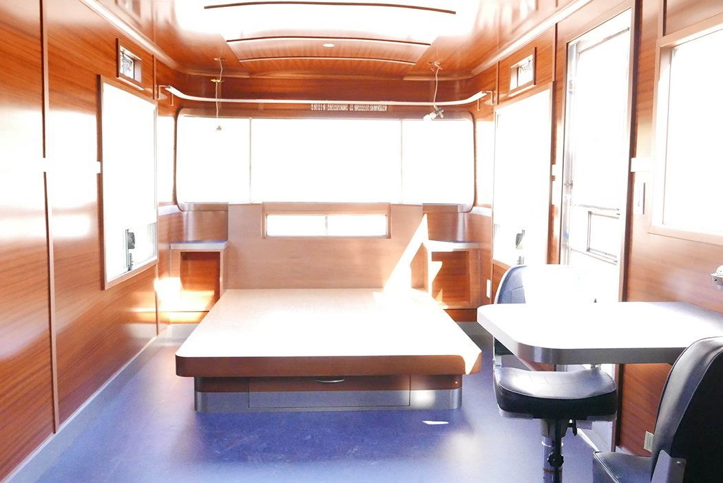 Vintage Spartan Remodel, Design and Fabrication.  Custom Airstream and Trailer Remodels