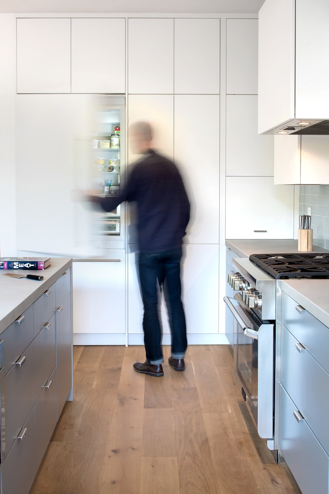 Kitchen  27th Street - Noe Valley by patrick perez/designpad architecture