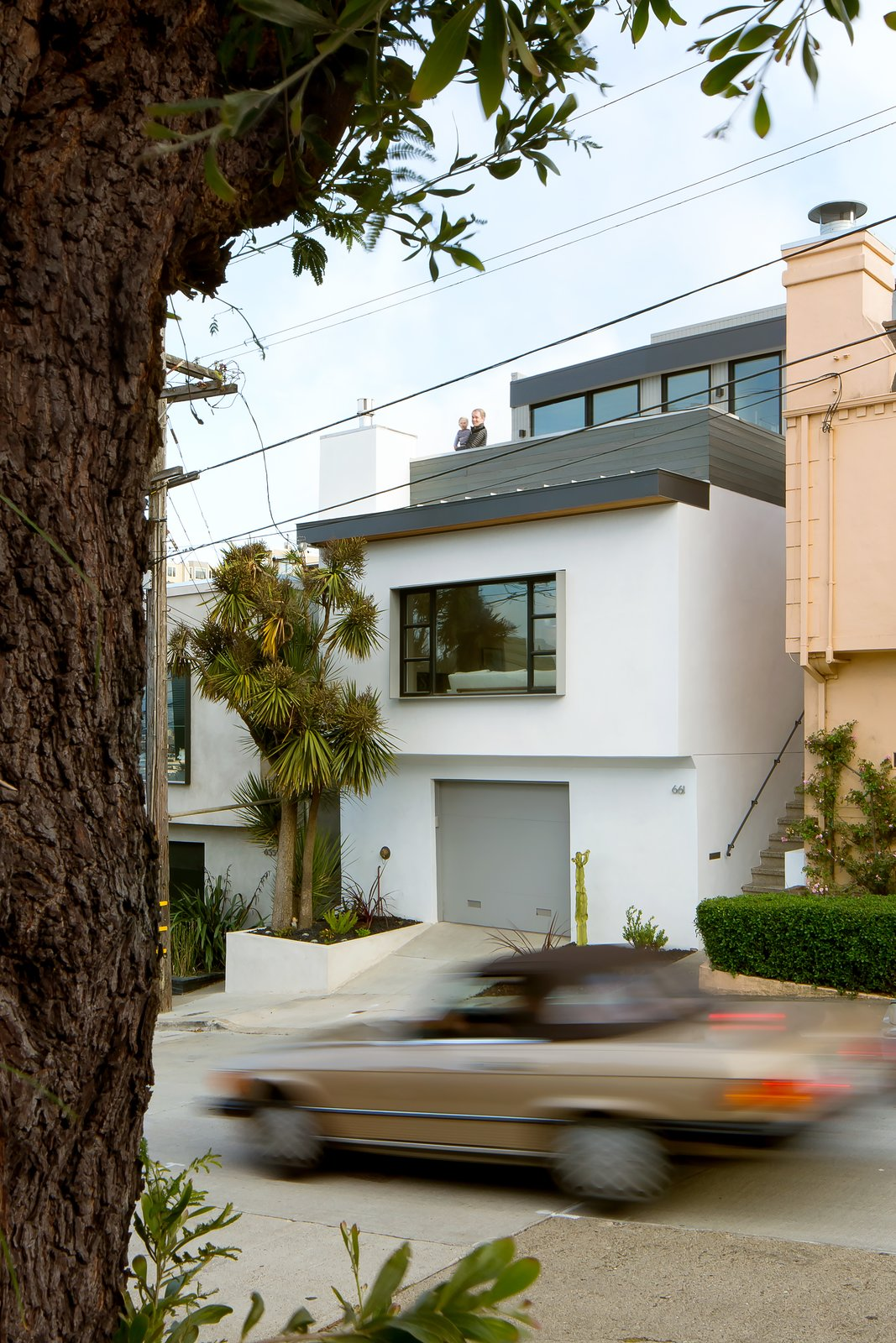 Exterior and House Building Type Front facade  27th Street - Noe Valley by patrick perez/designpad architecture