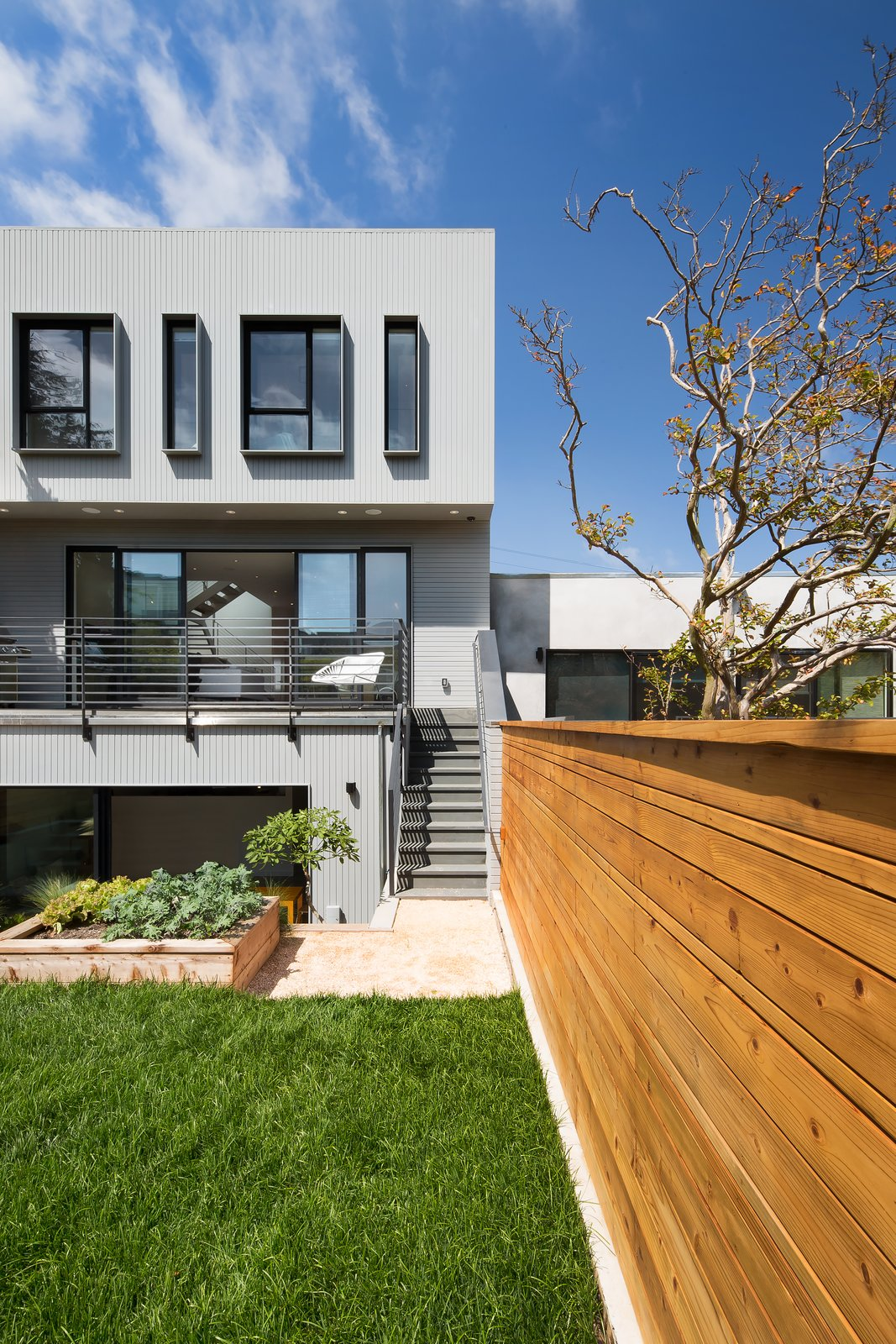 Exterior and House Building Type Rear facade  27th Street - Noe Valley by patrick perez/designpad architecture