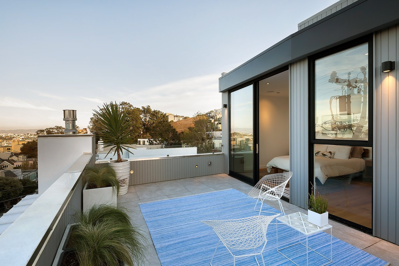 Outdoor and Small Patio, Porch, Deck Roof deck  27th Street - Noe Valley by patrick perez/designpad architecture