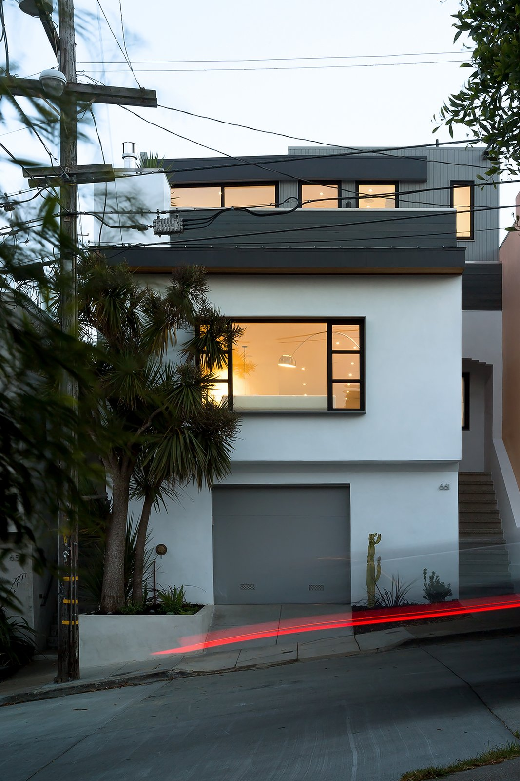 Front facade  27th Street - Noe Valley by patrick perez/designpad architecture
