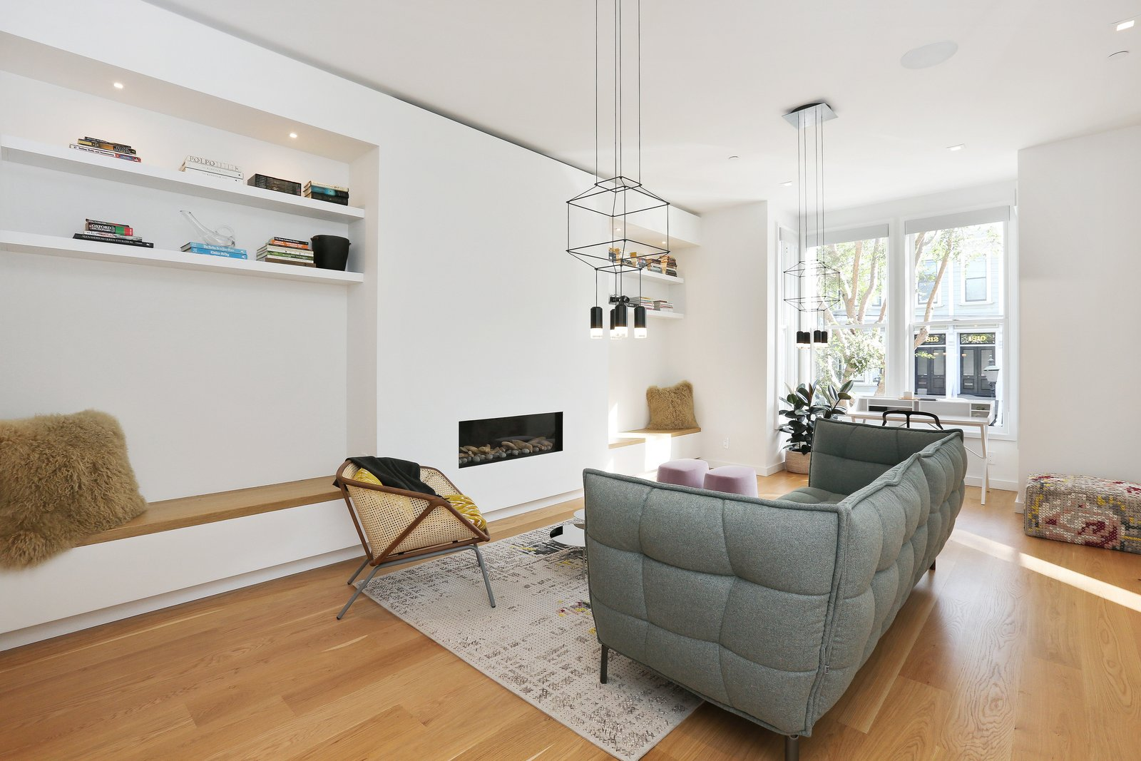 Living room  Lower Pacific Heights by patrick perez/designpad architecture