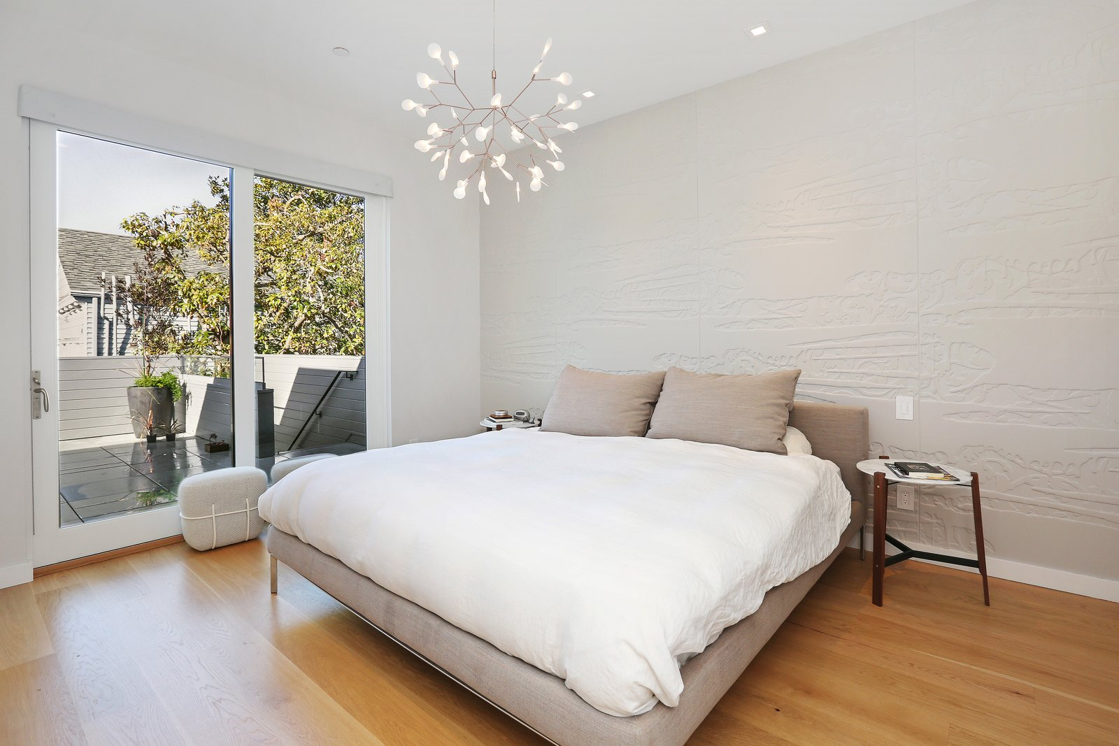 master bedroom  Lower Pacific Heights by patrick perez/designpad architecture