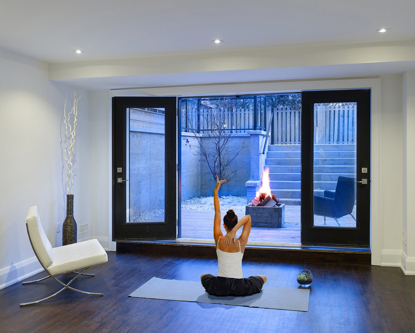 Basement Inspiration   Garden Void House by Alva Roy