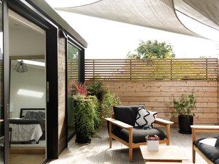 Outdoor space off master bedroom