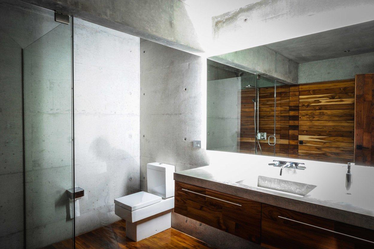 Bath Room Casa Narigua - P+0 Arquitectura  Casa Narigua by P+0 Arquitectura