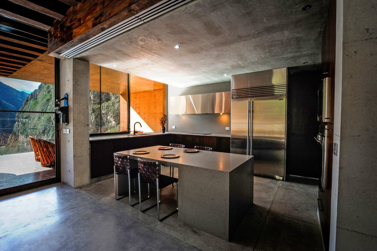 Kitchen Casa Narigua - P+0 Arquitectura  Casa Narigua by P+0 Arquitectura