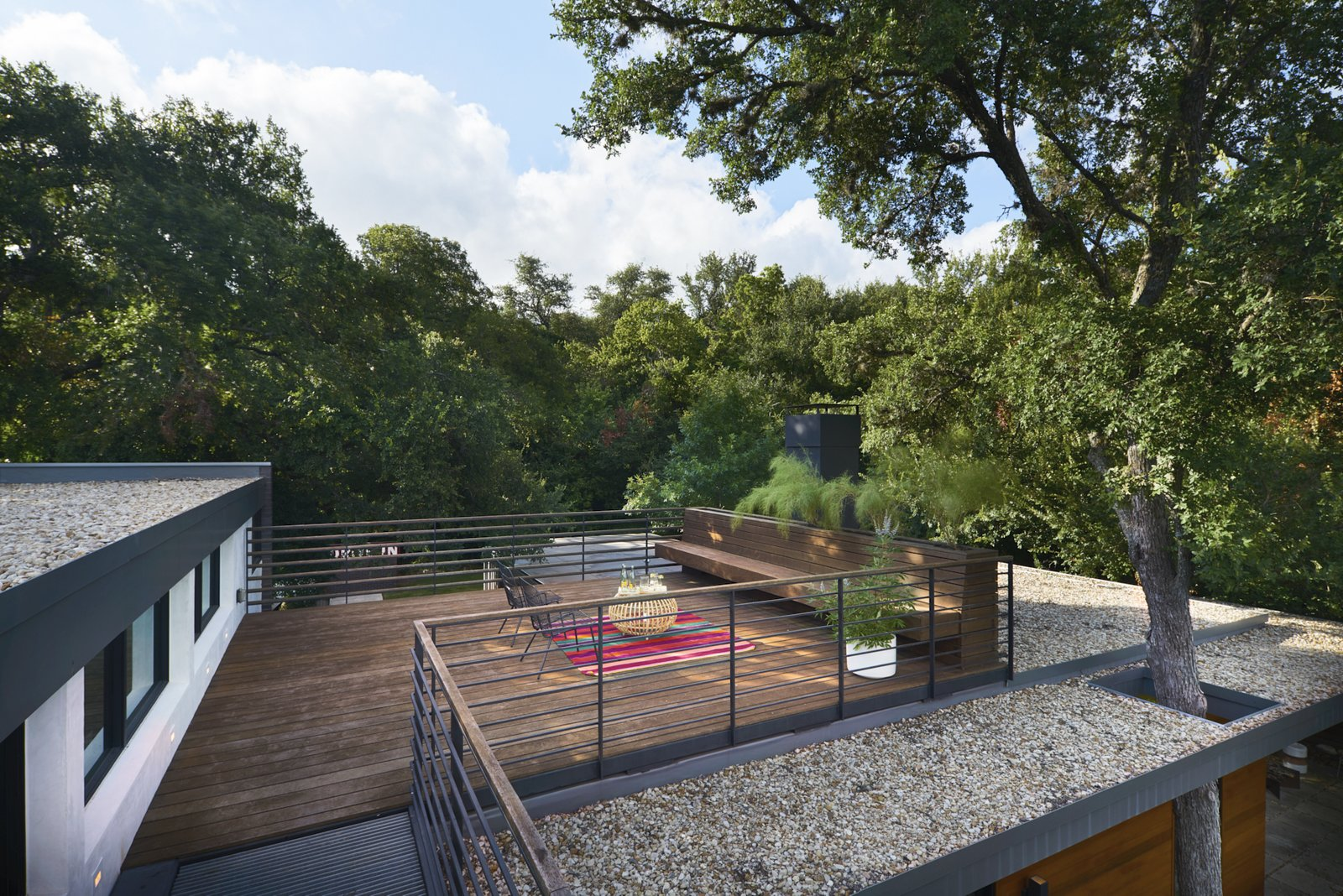 Roof deck  Airole Way Residence
