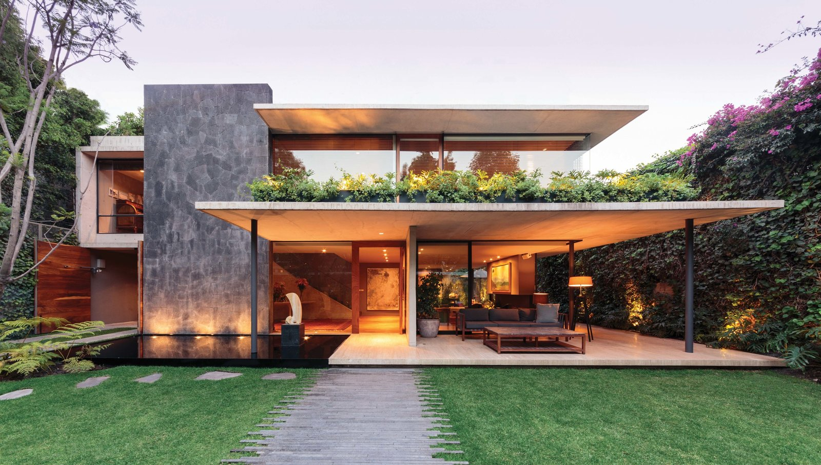 Exterior, House Building Type, and Flat RoofLine SIERRA FRIA  Best Photos from Sierra Fria