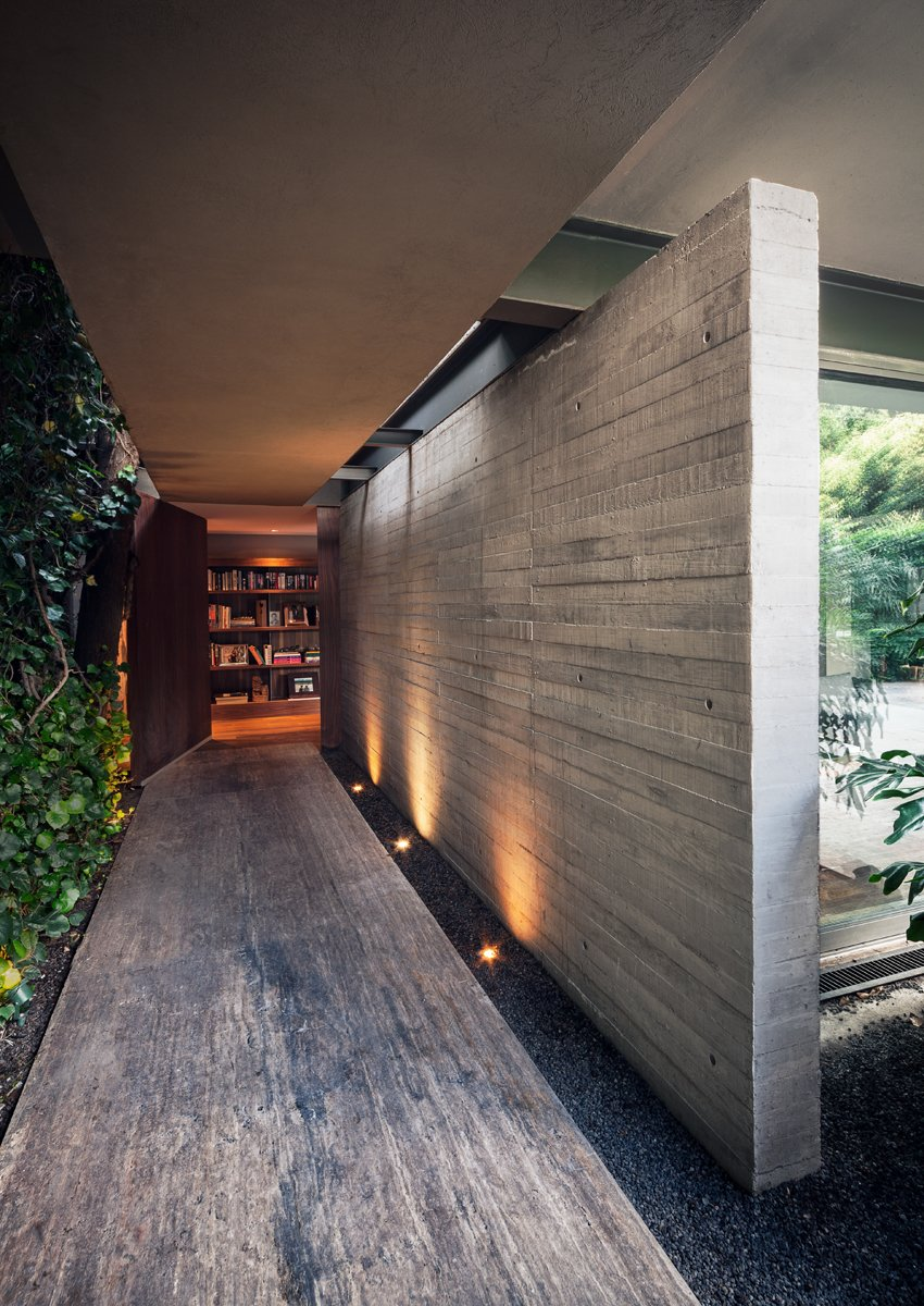 Exterior, House Building Type, and Concrete Siding Material SIERRA LEONA  House ideas from Top 4 Homes of the Week That Welcome You With Sleek Entryways