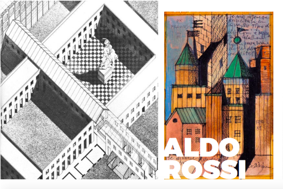 More of Aldo Rossi's amazing sketches for his projects  Photo 9 of 10 in Inspiring Icons/ Aldo Rossi
