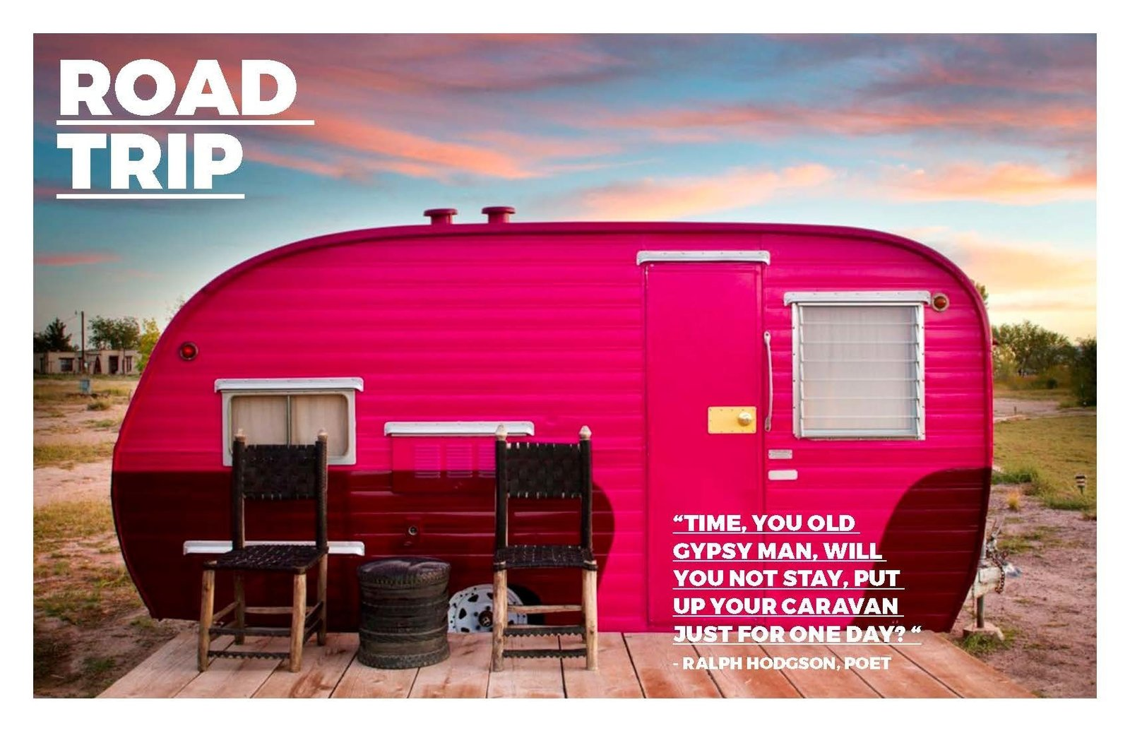 Trailers from another era have a new life and are permanently off road at Hotel El Cosmico in Marfa/ Texas. This picture first appeared in Hotels we Love at the Dwell website.  Photo 2 of 7 in Road Trip