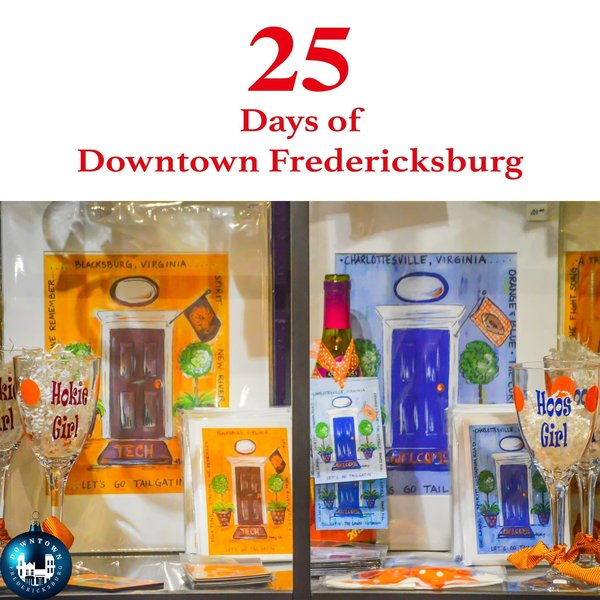 Gift Seventeen Whether you are a Hoo or a Hokie, Heather Boutique has the perfect collegiate gift for the fan in your home. https://www.facebook.com/DowntownFredericksburg/   25 Days of Downtown Fredericksburg