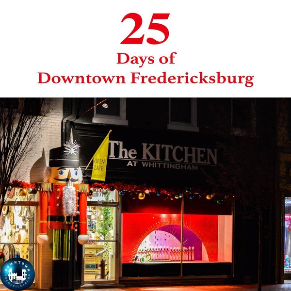 Gift Twenty-two A giant nutcracker, dancing ballerinas, and all the Christmas glassware and cookware you may need to make your holiday feast can be found at Whittingham. https://www.facebook.com/DowntownFredericksburg/