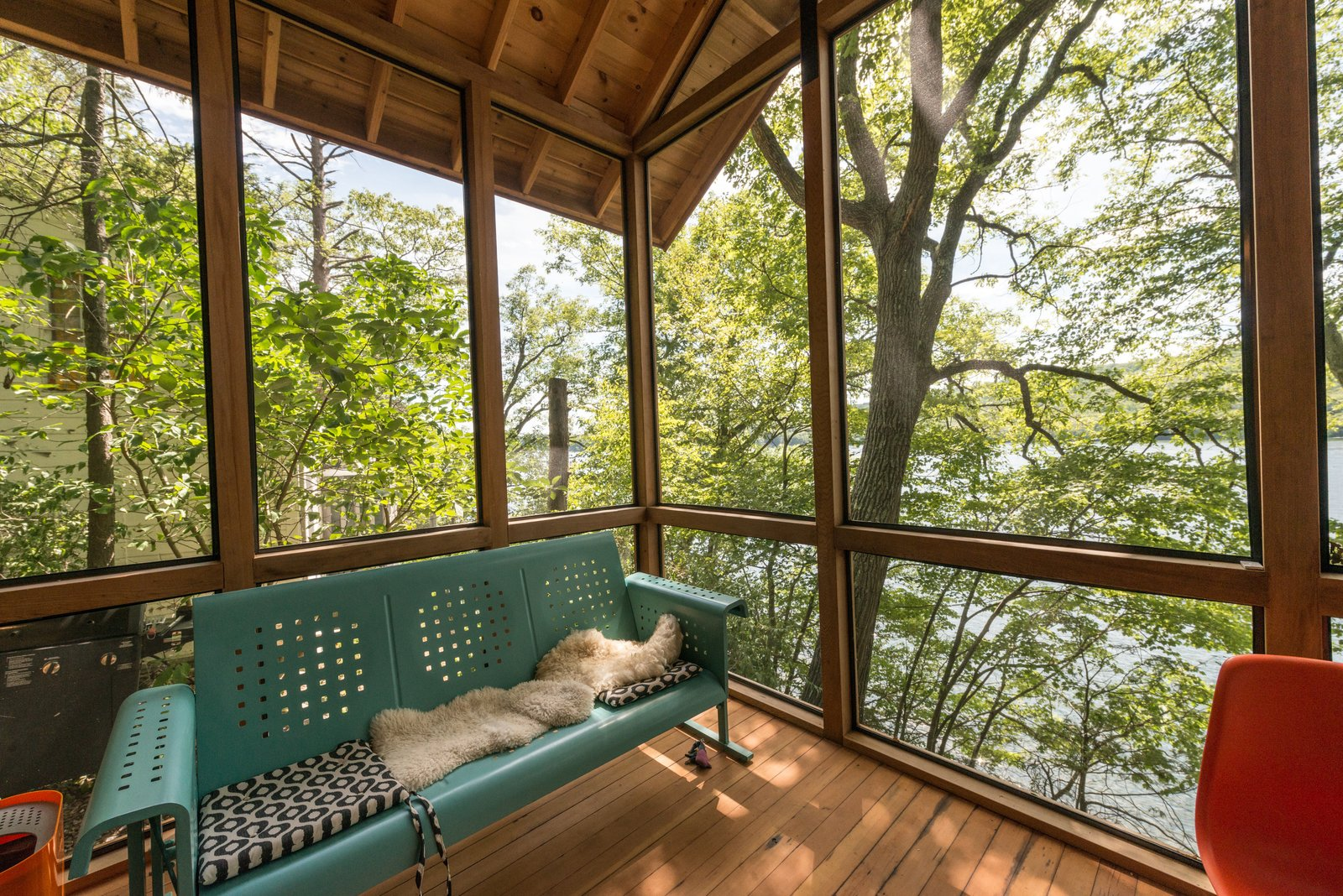 Porch View  Putnam Valley Lake House by LEAD