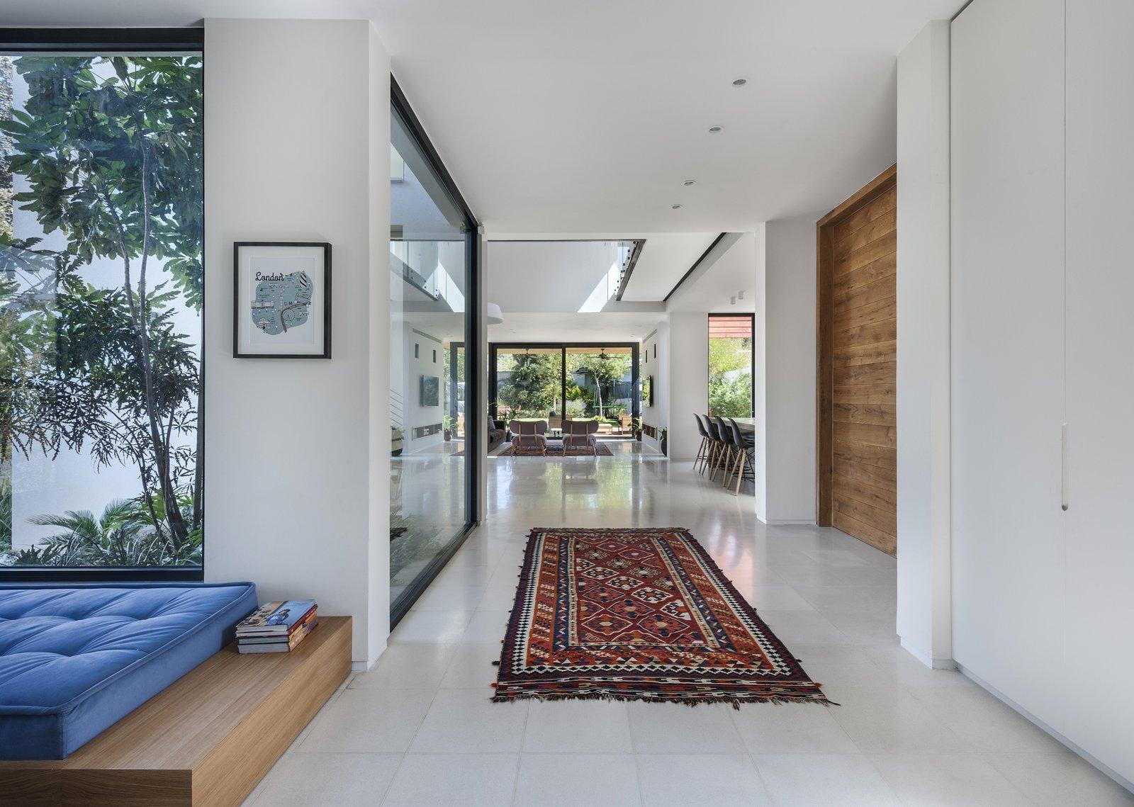 Doors, Wood, Interior, and Folding Door Type Ravit Dvir Architecture and Design  The House in Harutzim