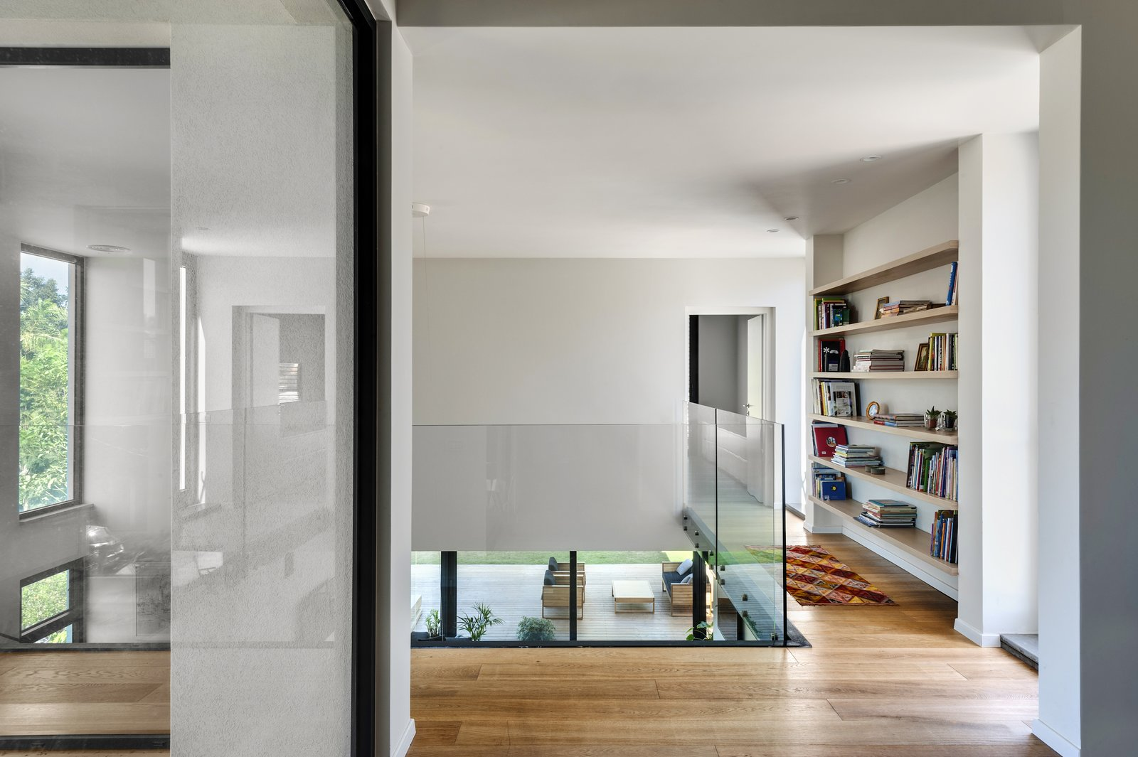 Storage Room and Shelves Storage Type Ravit Dvir Architecture and Design  The House in Harutzim