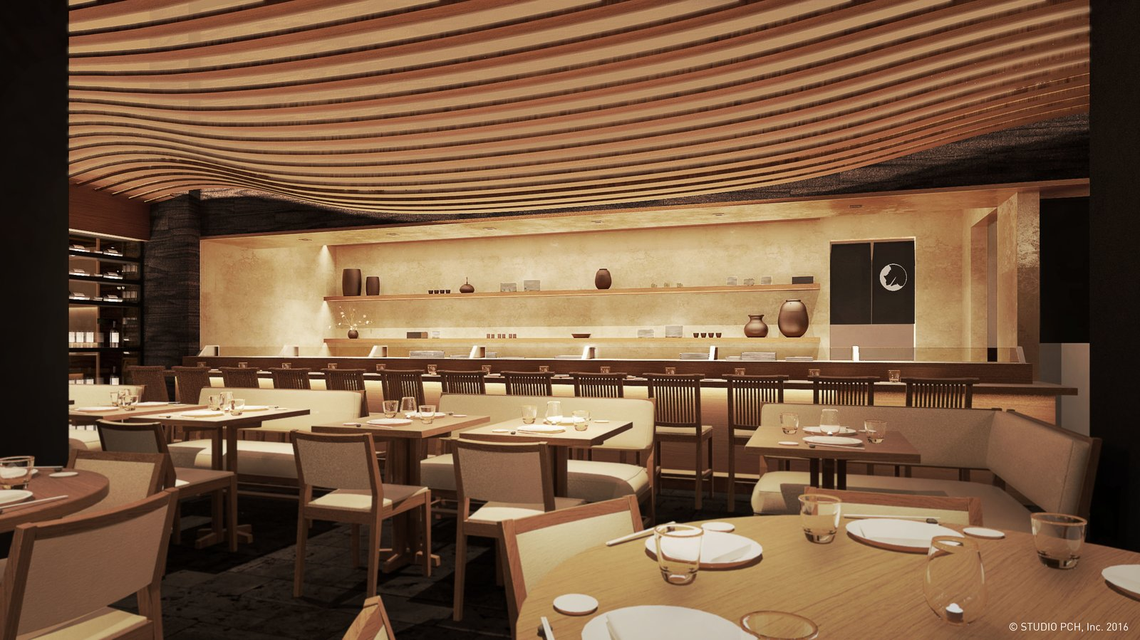Sushi bar  Photo 2 of 5 in Nobu Honolulu at Ward Village is Hawaii's Most Sought-After New Restaurant