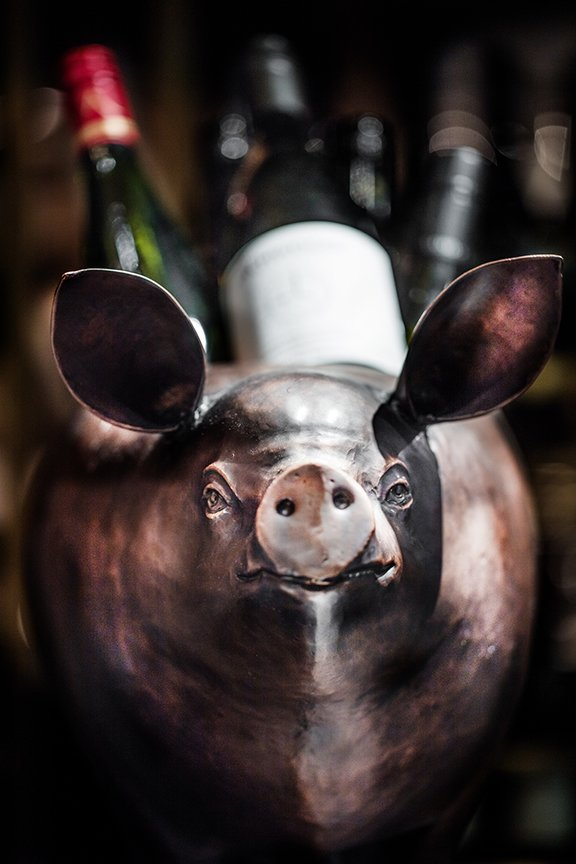 Wine in Swine  12,000 Francs by Emma Maxwell