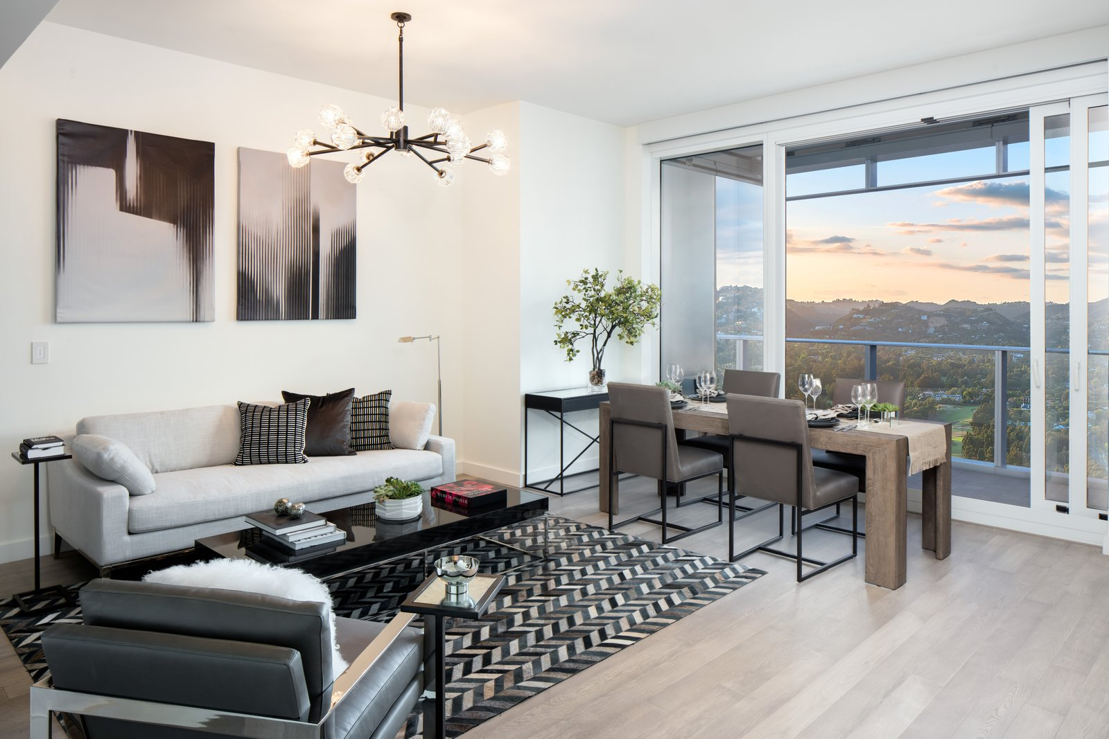 The 40-story angular glass-sheathed tower perched at the gateway to Beverly Hills is now open.  Ten Thousand Unveils First Look at Life Inside the Elegant Los Angeles Tower
