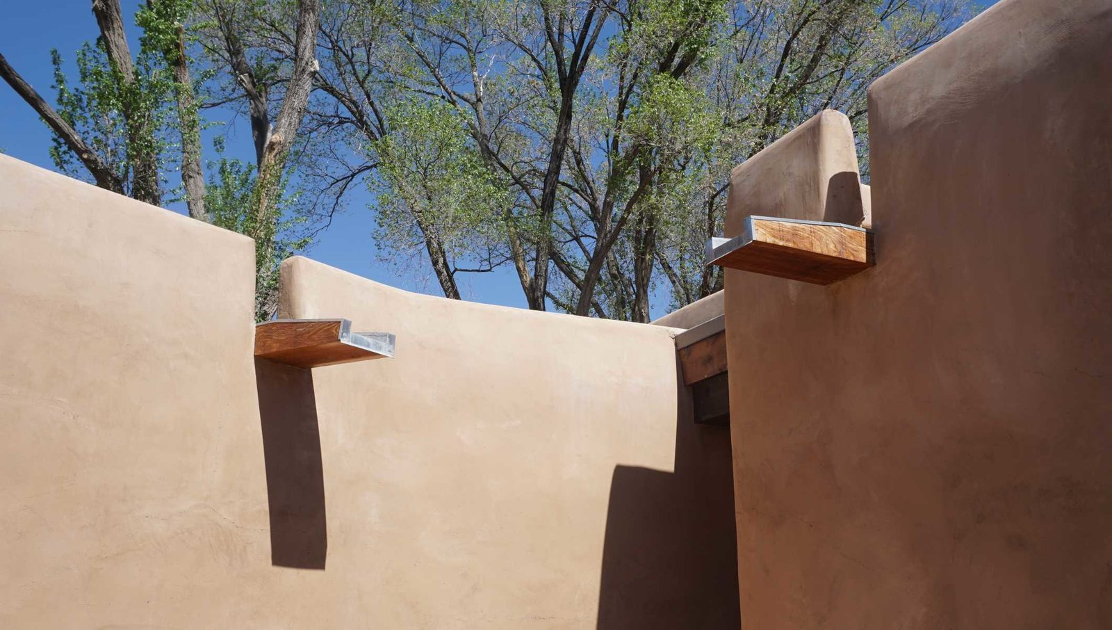 Exterior, House Building Type, and Stucco Siding Material Canale Detail  Santa Fe East Side Home by Ju Tan