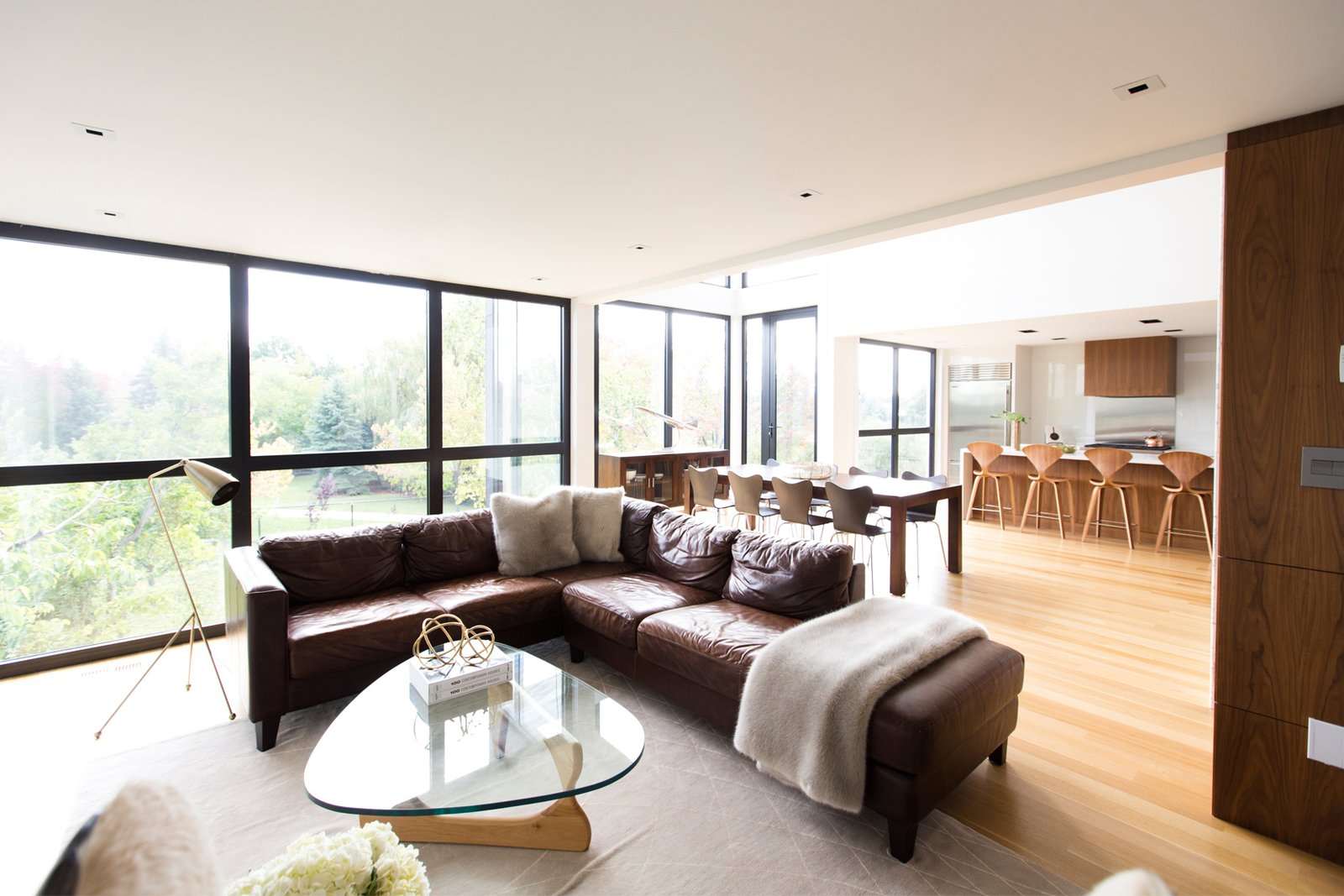 Living Room  Ravine House by FrankFranco Architects