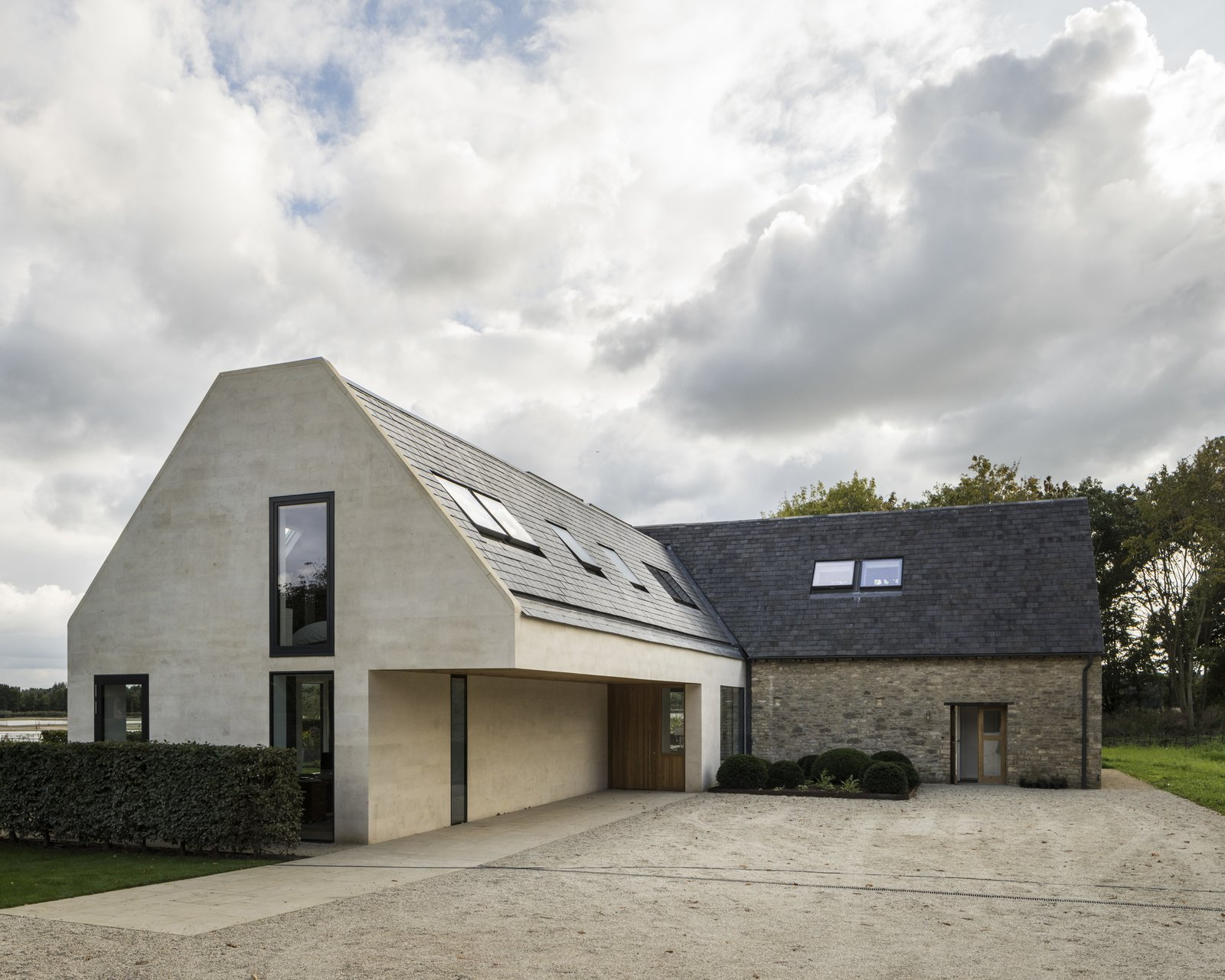 Architect: Waind Gohil + Potter Architects Photography: Anthony Coleman  The Old Barn Worton Farm