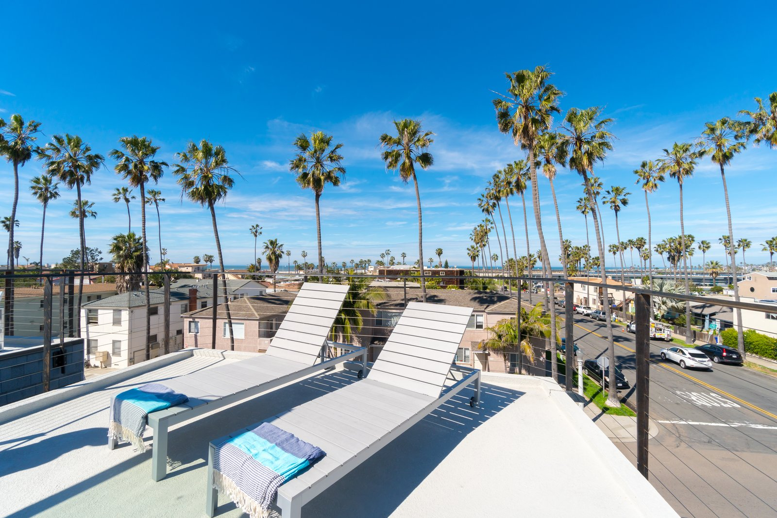Rooftop Deck with Panoramic views of the water  Three on Abbott