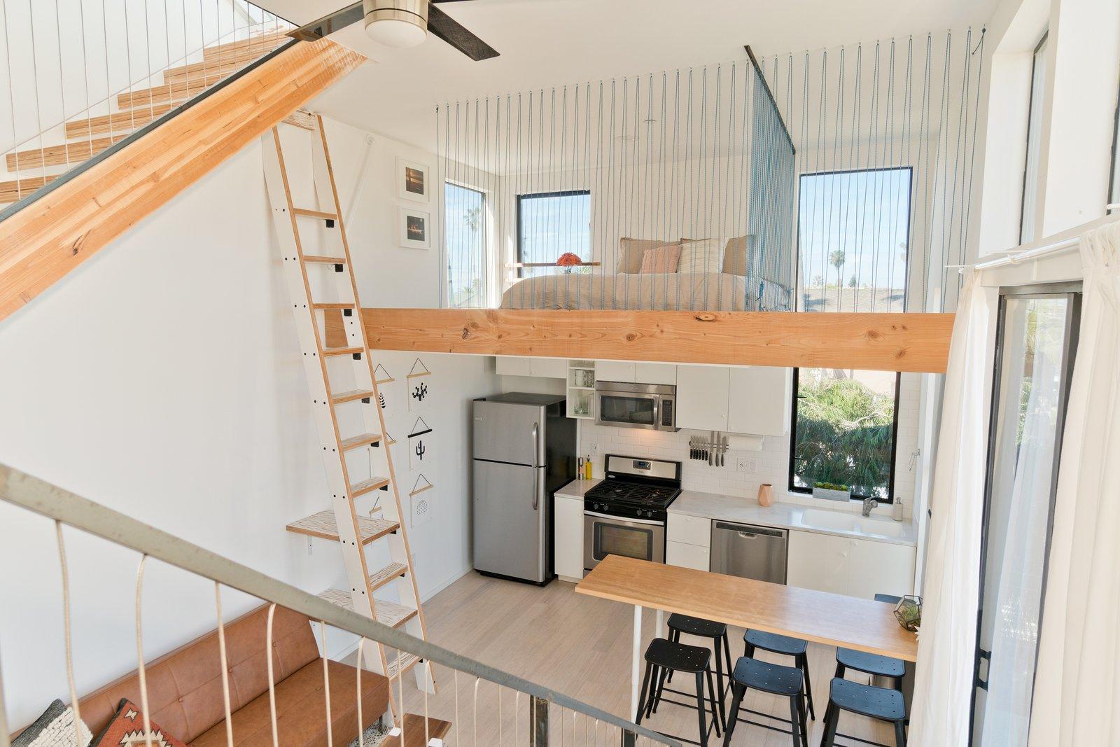 Living Room, Kitchen/Dining and Sleeping Loft  Three on Abbott