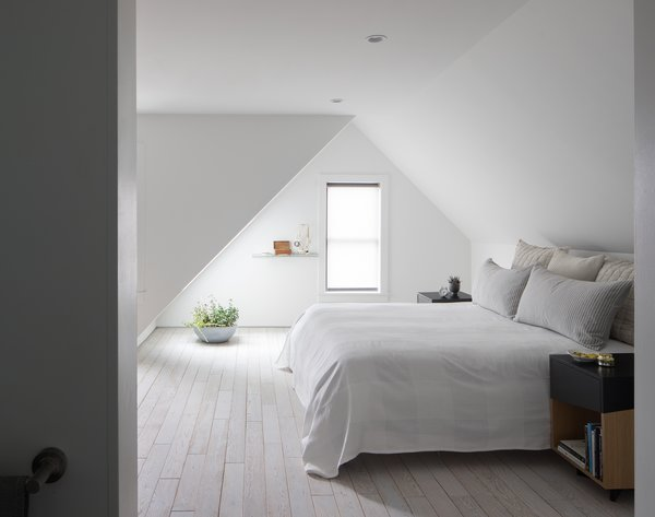 Master Bedroom. Custom night stand by Platform Workshop.