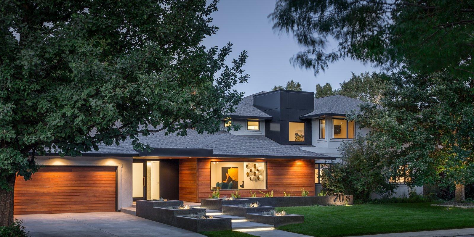 Front of home  Donner Residence by Design Platform