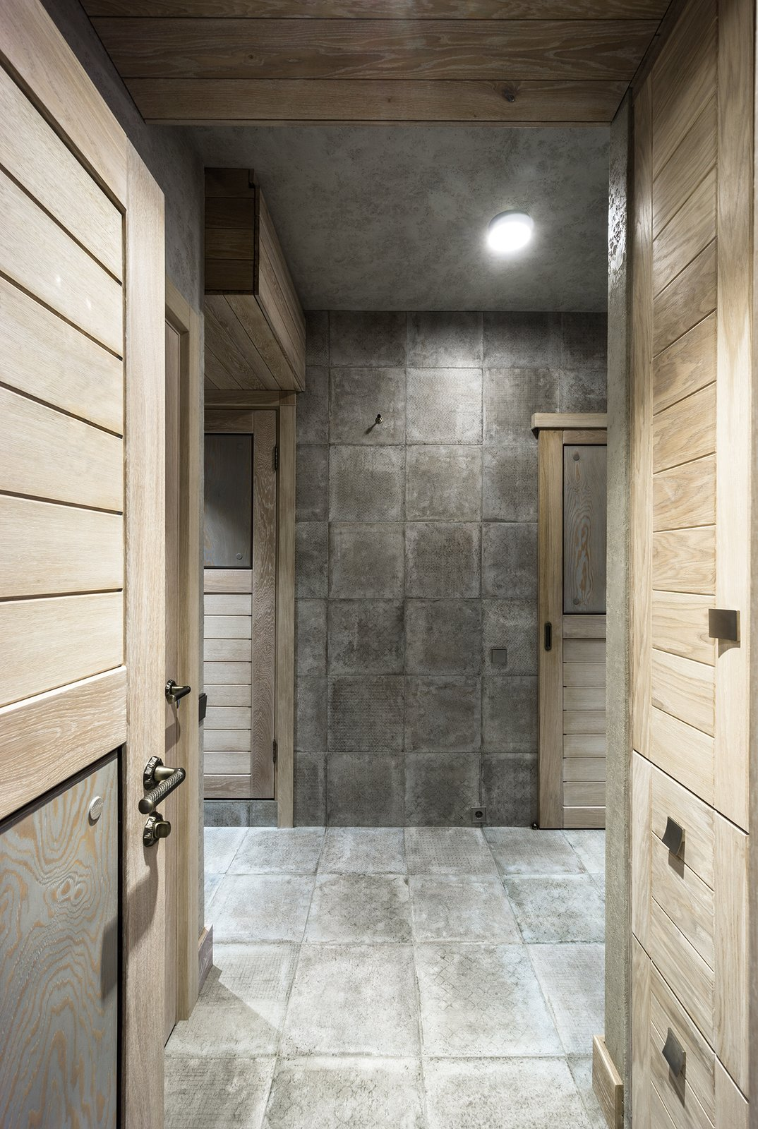 Hallway and Ceramic Tile Floor Hallway  NagatinSky by Alexey Rozenberg