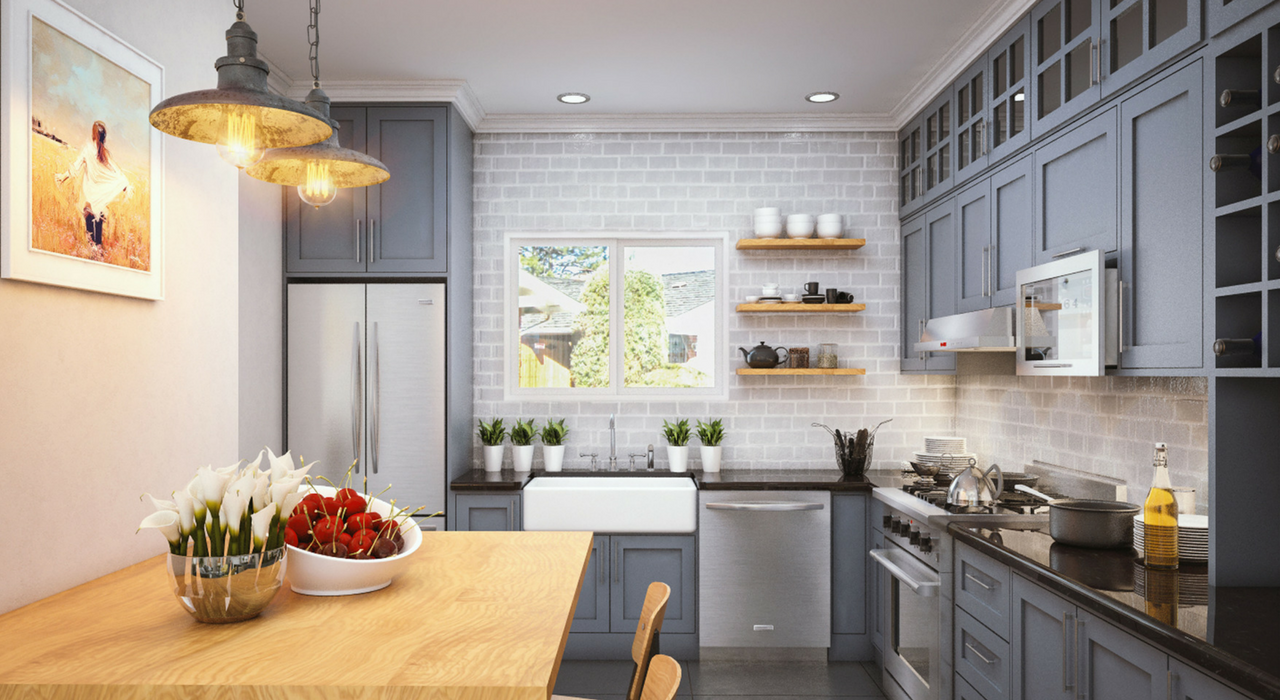 Source: Arcbazar, 'Woodlands Remodel' Competition  Photo 4 of 4 in 8 Kitchen Design Trends to Look Out for in 2017