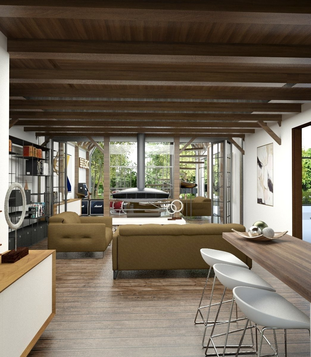 Competition: Modern Farmhous  Photo 9 of 9 in This Farmhouse Design is a Modern-Day Fairytale from A Stunning Modern Farmhouse Design