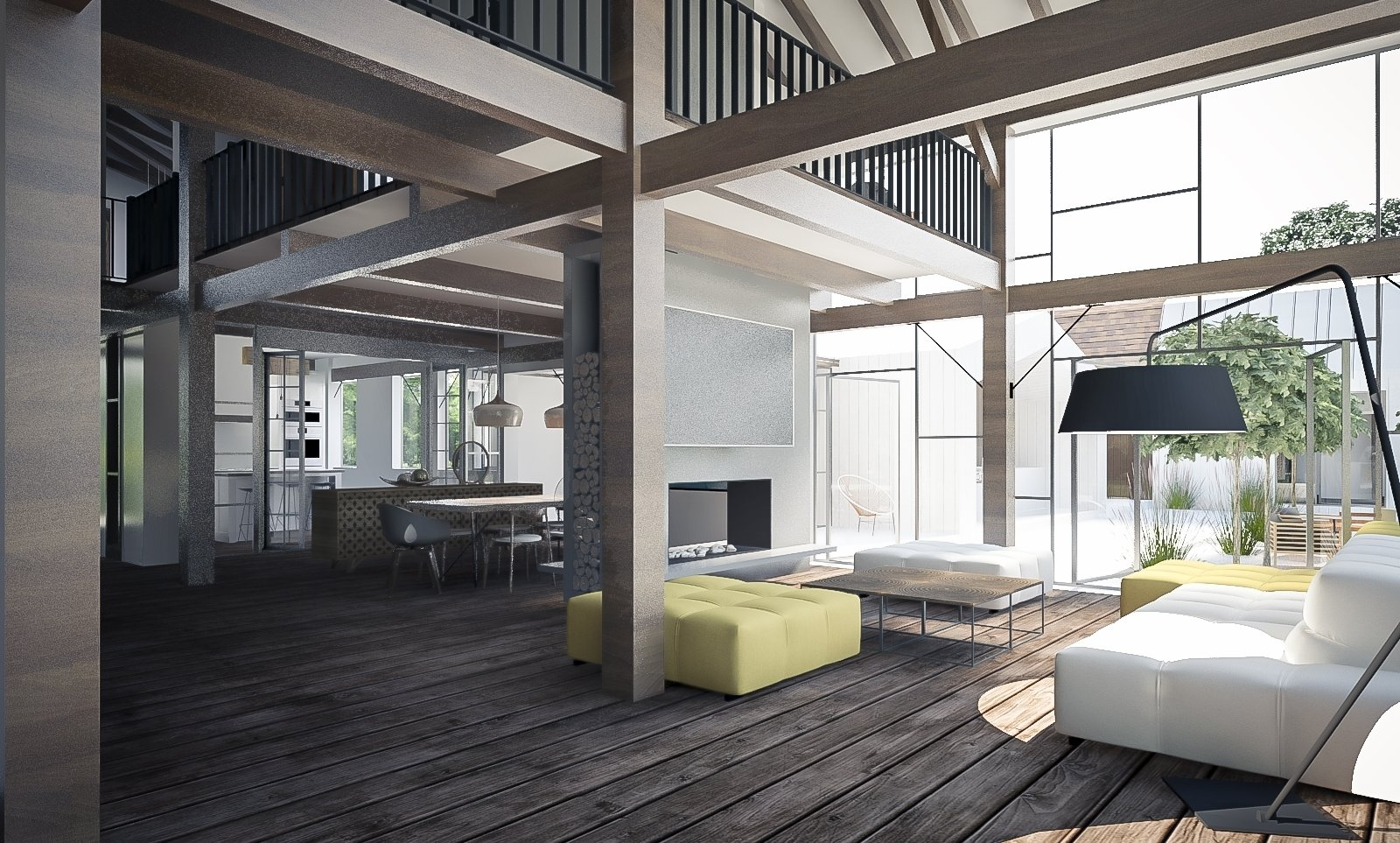 Competition: Modern Farmhouse  Photo 4 of 9 in This Farmhouse Design is a Modern-Day Fairytale from A Stunning Modern Farmhouse Design