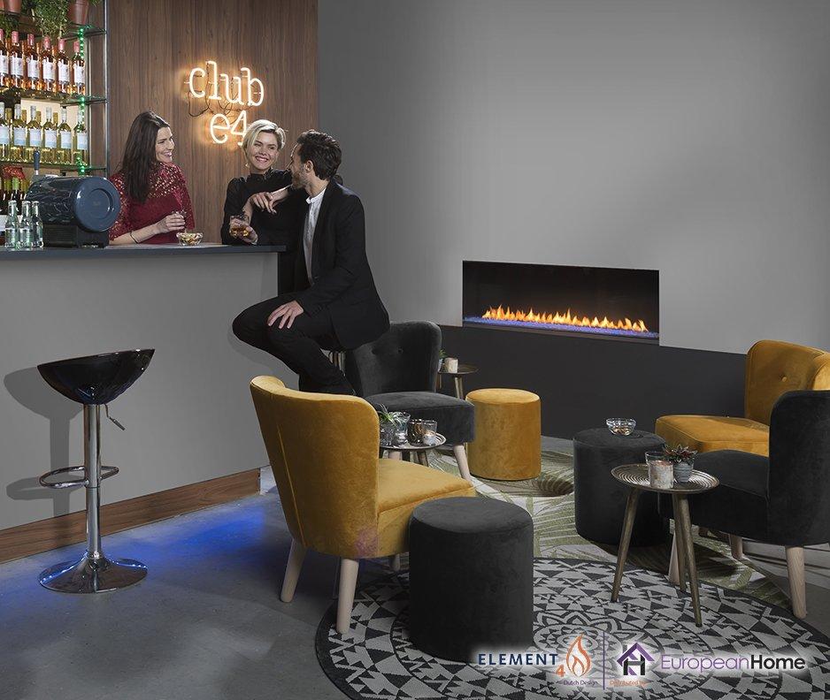 Club 140 F Single-Sided Gas Fireplace  Club 140 Gas Fireplace
