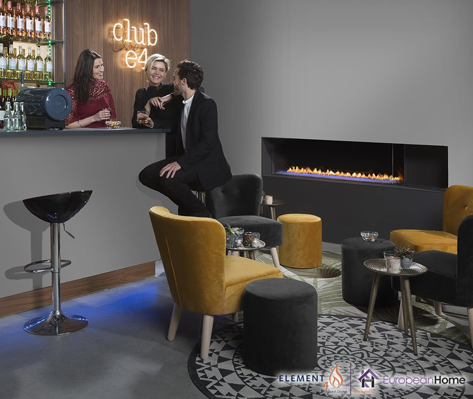 Club 140 C Corner Style Gas Fireplace  Club 140 Gas Fireplace