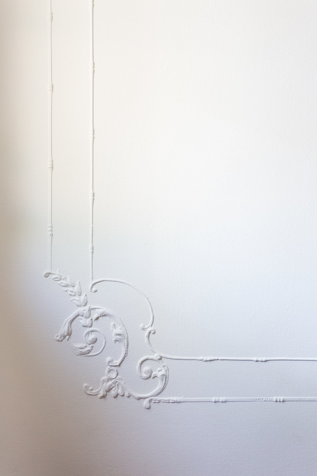 Master bedroom wall detail  Dundee Residence by Jette Creative