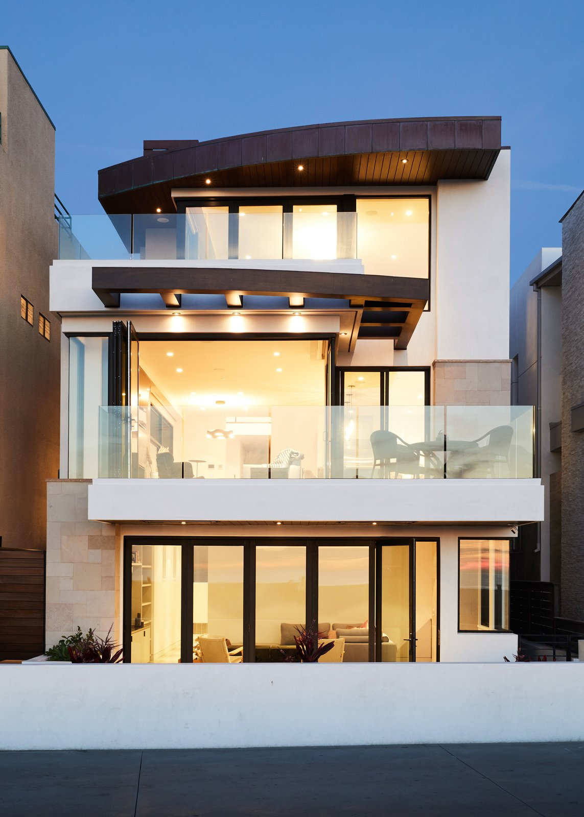 Exterior and House Building Type Exterior  The Strand Residence