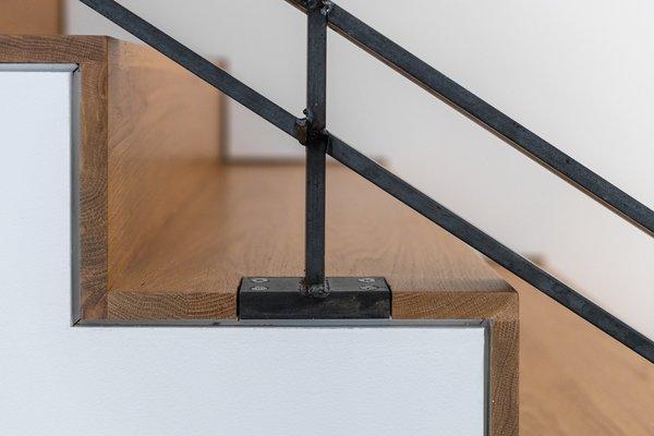 Stair Riser + Rail Detail
