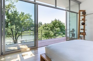 Master Bedroom View to Creek