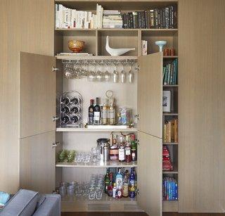 5 Hidden Home Bars