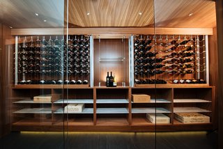 The Northwest Wine Room Modern Home In Forest Park Portland
